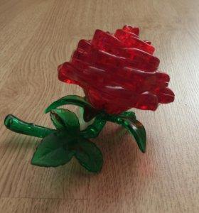 3D пазл Розочка