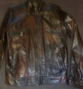 Куртка подростковая кожзам.новая