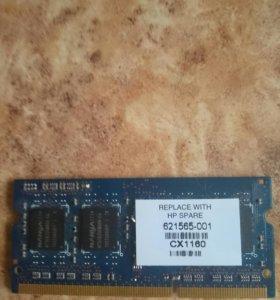 Оперативная память DDR3 на 4 Гб.