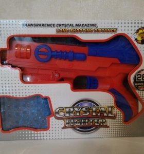 Оружие для мальчиков, стреляют гелевыми пульками