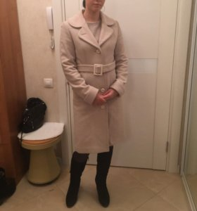 Пальто шерсть 100%