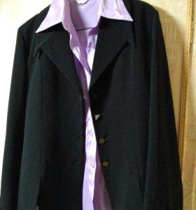 Пиджак+блузка в подарок