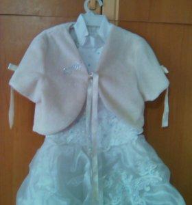 Платье и болеро на 6-7 лет !