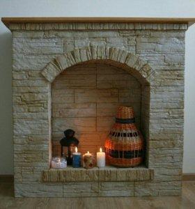Камин декоративный