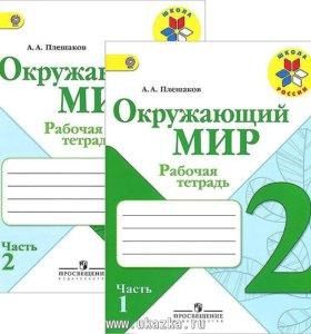 Рабочие тетради,школа России,2 кл