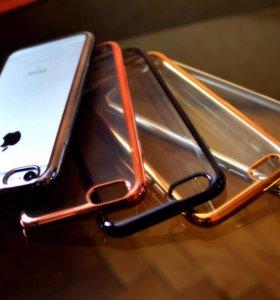 Силиконовый чехол на iPhone 6/6s, 7
