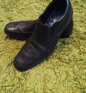 Туфли мужские,кожаные