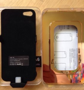 Зарядка чехол для айфон 5s