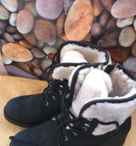 Обувь ботинки зимние Gut.