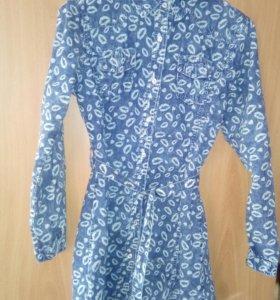 Платье туника 48