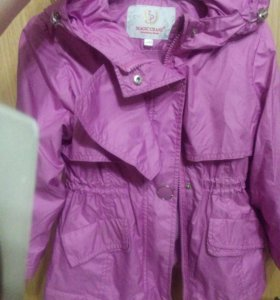 Курточка-ткань плашевка мягкая