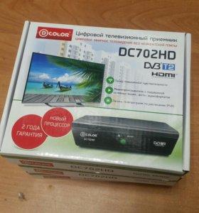 DVB-T2 Приемник Dcolor 702HD