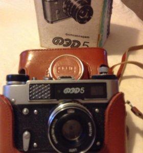 Фотоаппарат ФЭД новый сделано в СССР