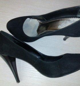 Туфли замша, 36