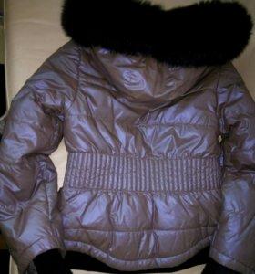 Куртка мех натуральная песец