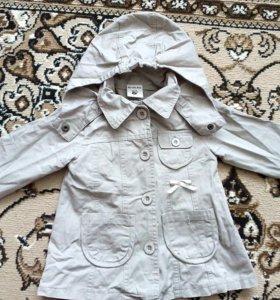 Курточка джинсовая детская для девочки