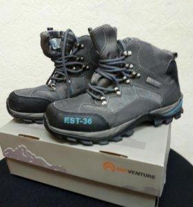 Ботинки 38 размер( зима)