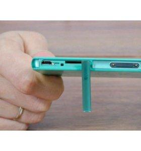 Замена системного разъёма на Sony Xperia Z3 Com