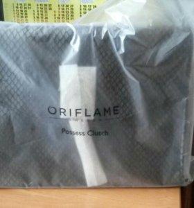Новый клатч в упаковке