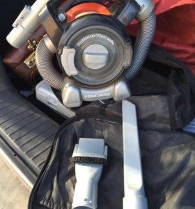 Автомобильный пылесос black decker