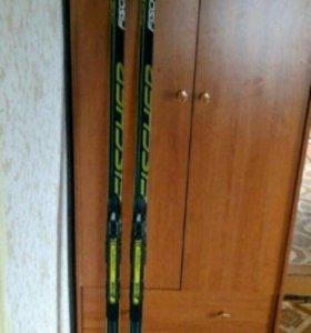Лыжи Fischer carbon lite  Alpina 38