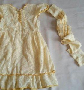 Платье детское р 104-110