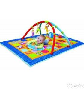 Развивающий коврик Taf toys 3в1