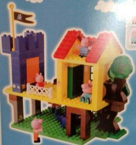 Конструктор Peppa Pig Дом на дереве. 94 детали.