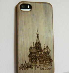 Деревянный чехол для iPhone 5
