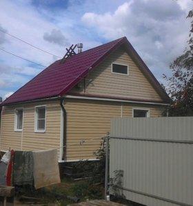 Строительство домов и бань, с гарантией.