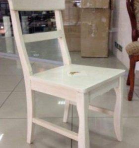 """4стула Civic Sunny Chair Antique White/плитка 4"""""""