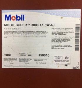 Масло Mobil super 3000 5w40 разливное