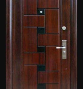Б/у металлическая дверь