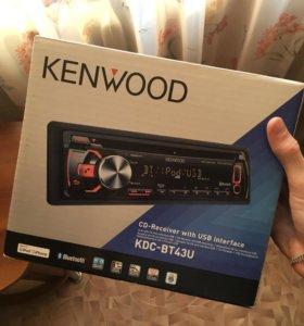 Магнитола KENWOOD KDC-BT43U