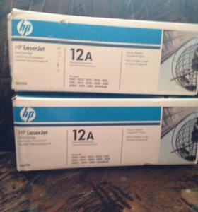 Картридж HP 12A Q2612A , черный