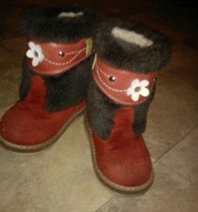 Самая теплая обувь на зиму.