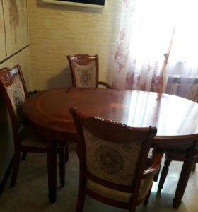 Стол обеденный 4 стула