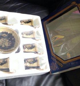 Фарфоровый кофейный набор Yamasen