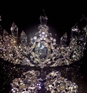 Корона, тиара ,диадема,свадебные украшения