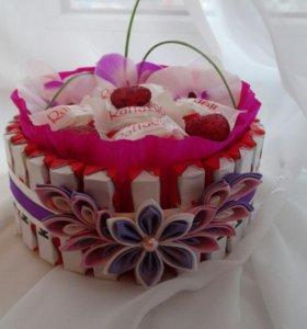 Торт из киндеров на заказ