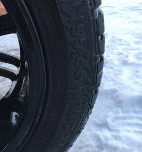 Литые колеса с резиной R15