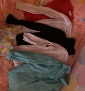 Кофты, водолазка, рубашка