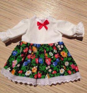 Новые кукольные платья