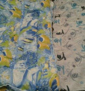 Одеяло и чехол (новые)