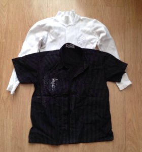 Рубашка и кофта (водолазка) на мальчика 4-6 лет