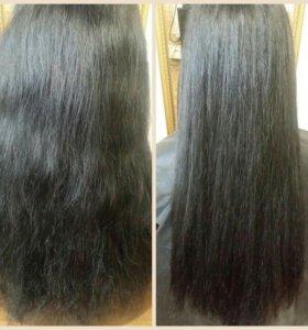 Термокератин +полировка волос