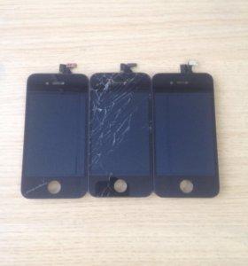 3 модуля на iPhone 4S