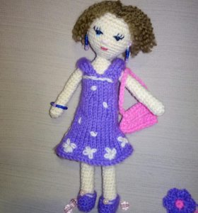 Куколка амигуруми Эмилия