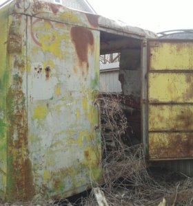 Строительный вагончик-будка