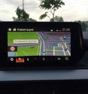 Навигация Mazda!